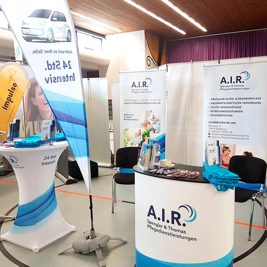 Messestand von A.I.R. Spengler & Thomas