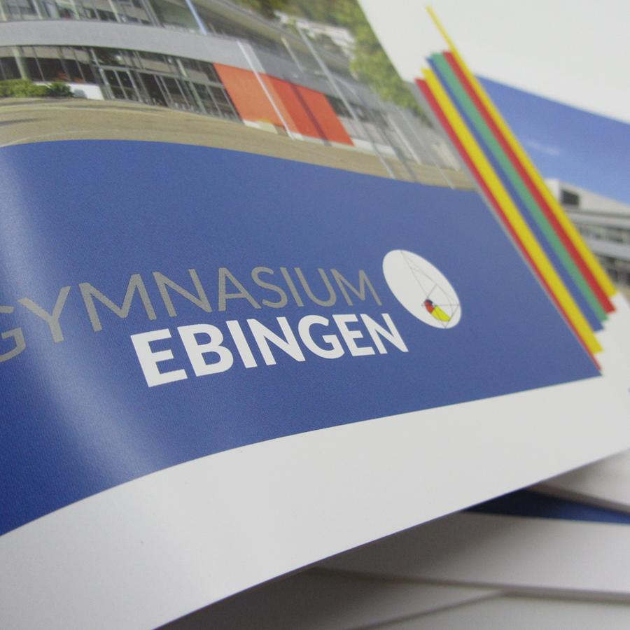 Leitbildbroschüre des Gymnasiums Ebingen