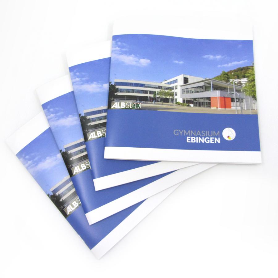 Broschüre zum Leitbild des Gymnasiums Ebingen