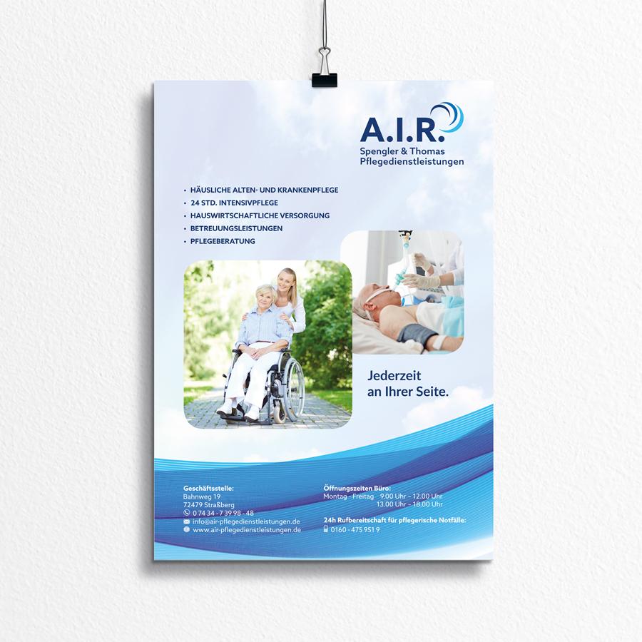 Plakat A.I.R. Spengler &