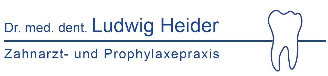 Logo von Zaharzt Ludwig Heider
