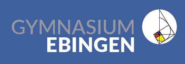 Logo des Gymnasiums Ebingen auf der Leitbildbroschüre