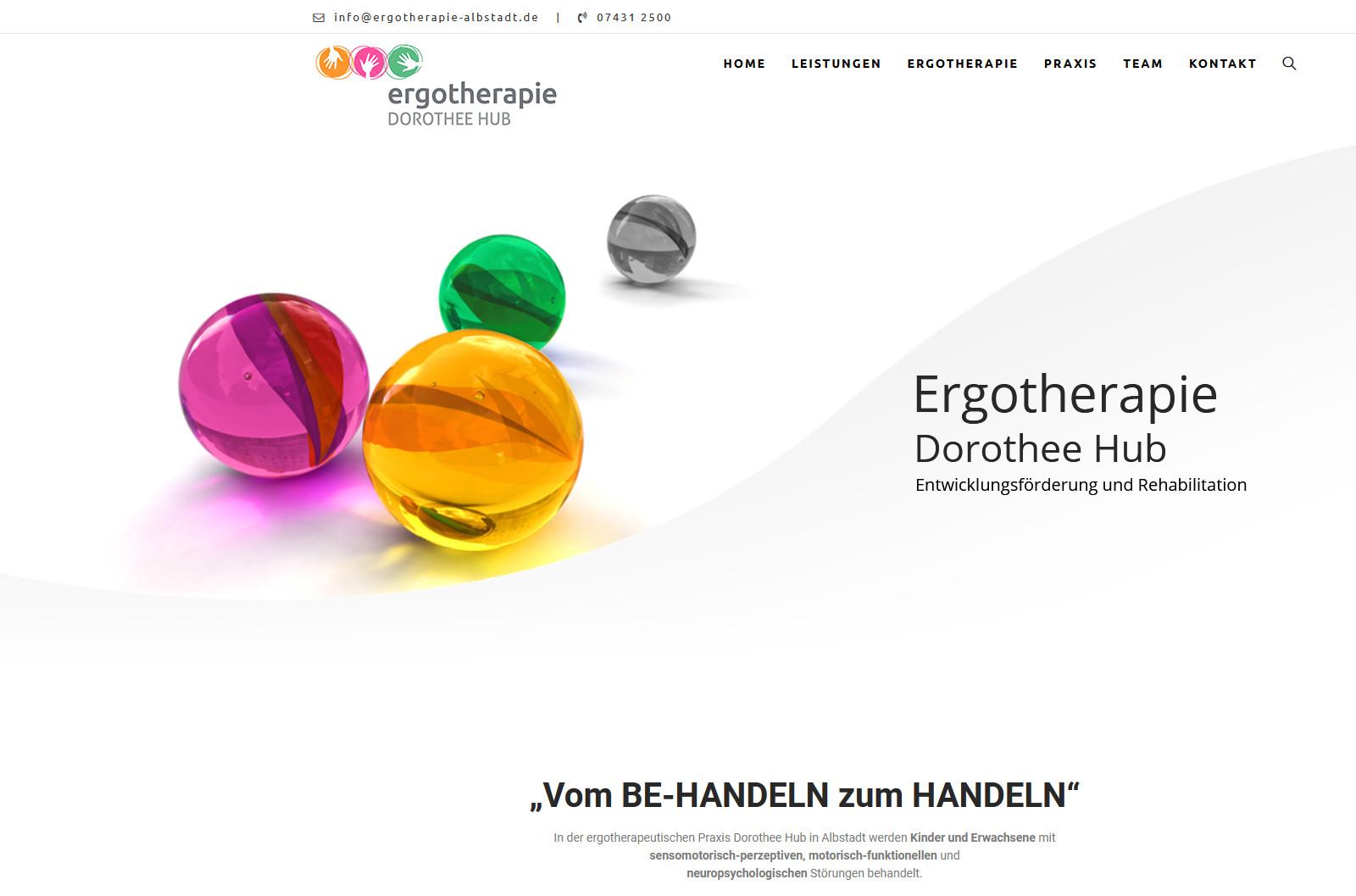 Startseite von ergotherapie-albstadt.de
