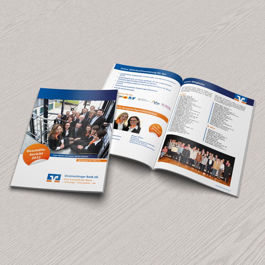 Geschäftsbericht 2013 Onstmettinger Bank