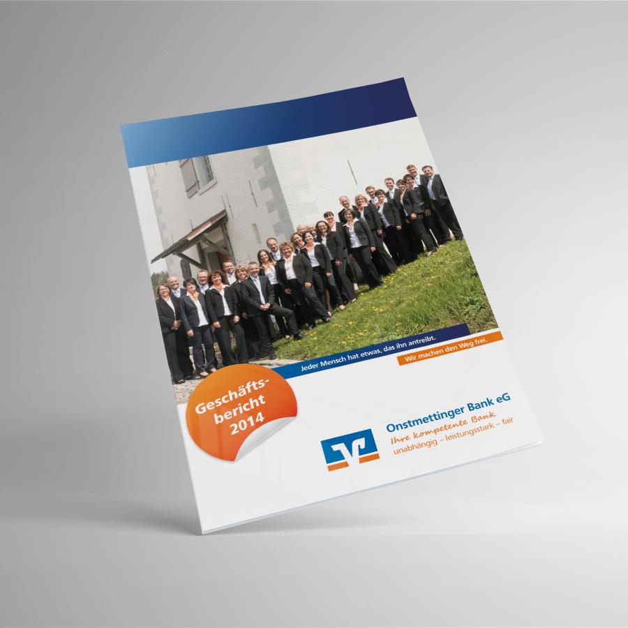 Geschäftsbericht 2014 Onstmettinger Bank