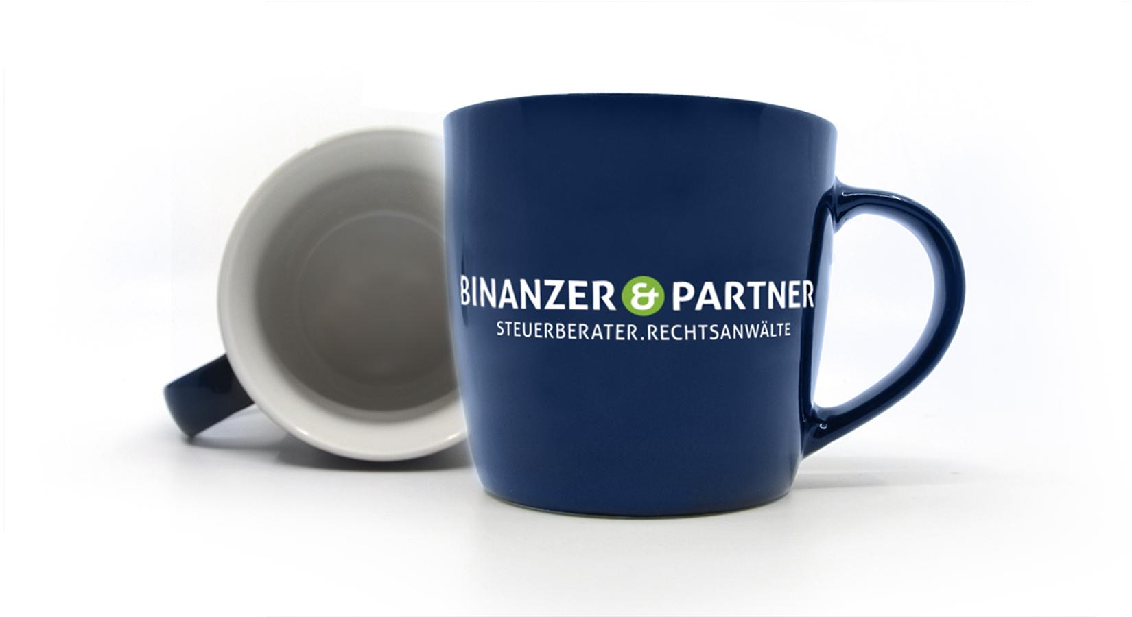 Tasse für Binanzer & Partner