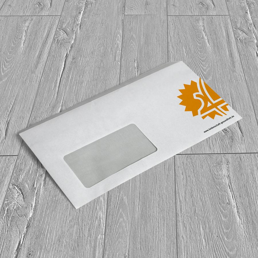 Briefhülle für Hepp-Apotheken