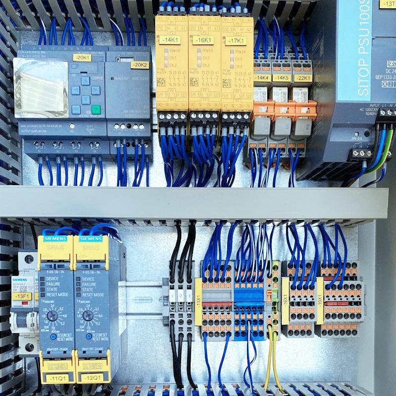 Schaltschrank mit Siemens-Technik