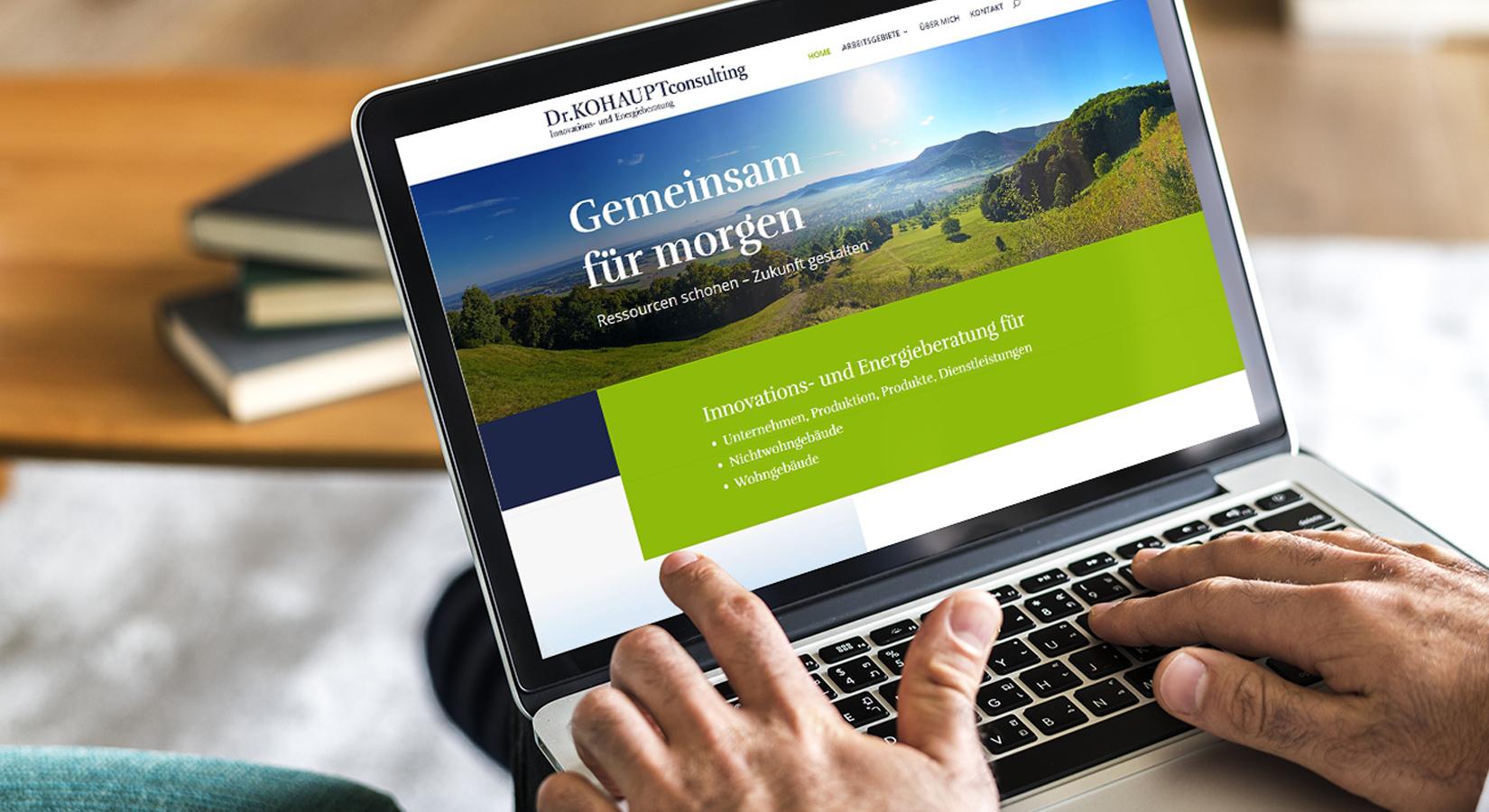 Website von Kohaupt Consulting